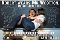 Robert, you ARE Mr. Wootton!